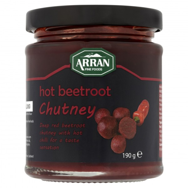Arran Hot Beetroot Chutney