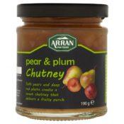 Arran Pear and Plum Chutney 185g