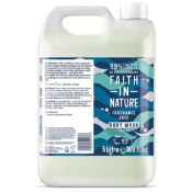 Faith In Nature Fragrance Free Body Wash 5L