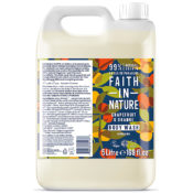 Faith In Nature Orange & Grapefruit Body Wash 5L