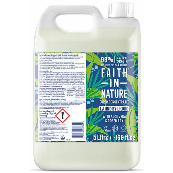 Faith In Nature Super Concentrted Laundry Liquid 5L