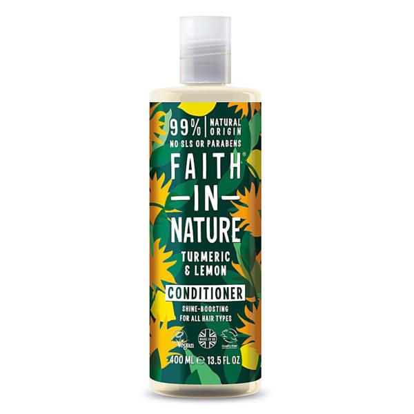 Faith In Nature Turmeric & Lemon Conditioner 400ml
