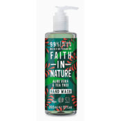 Faith In Nature Aloe Vera & Tea Tree Hand Wash 400ml