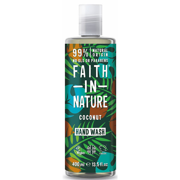 Faith In Nature Coconut Hand Wash 400ml