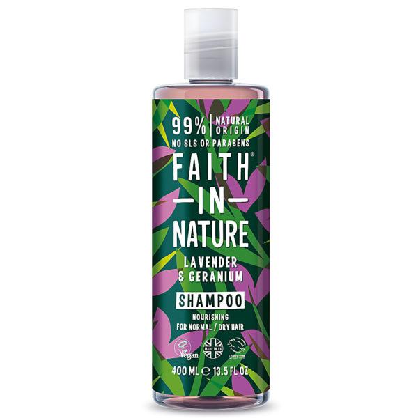 Faith In Nature Lavender & Geranium Shampoo 400ml