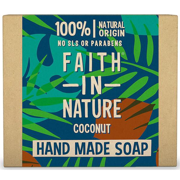 Faith In Nature Coconut Handmade Soap 100g