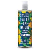 Faith In Nature Turmeric & Lemon Body Wash 400ml
