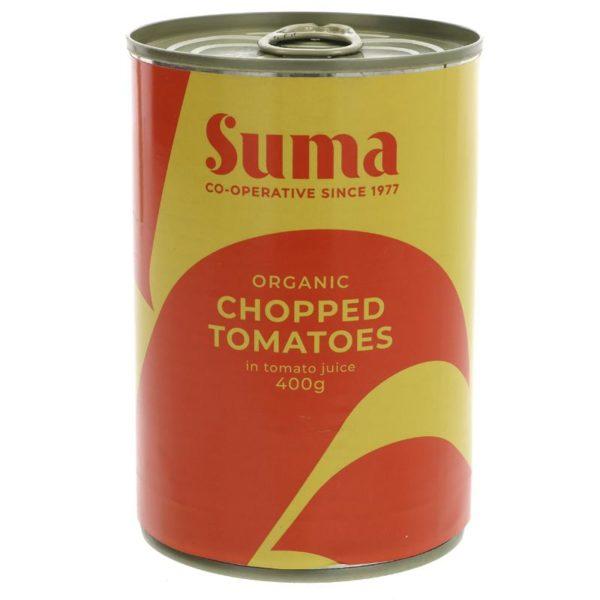 Suma Organic Chopped Tomatoes