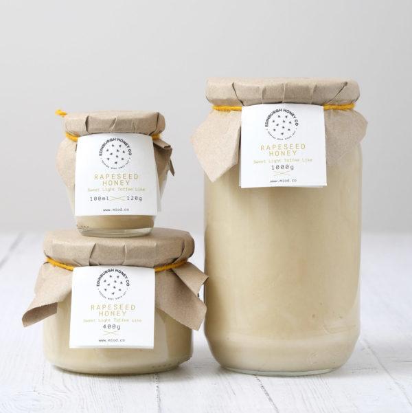 edinburgh honey company rapeseed honey