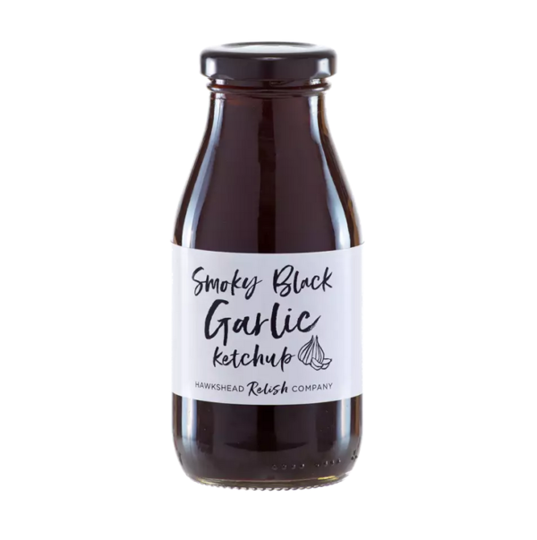 Hawkshead Relish Company Smoky Black Garlic Ketchup