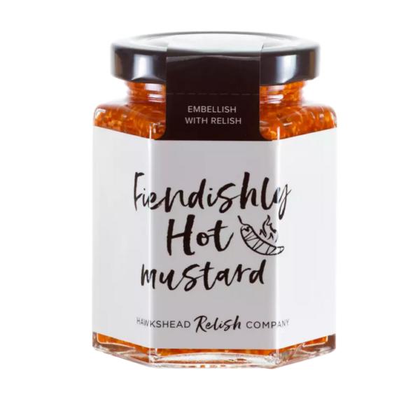 Hawkshead Relish Company Fiendishly Hot Mustard