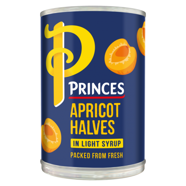 Princes Tinned Apricot Halves