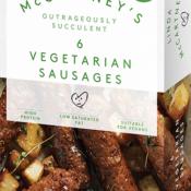 Linda Mccartney 6 pack of vegetarian sausages