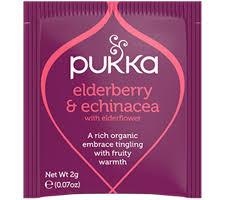 Pukka elderberry and echinacea tea