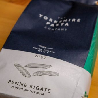 Yorkshire Pasta Company - Penne Rigate Pasta At The Mart Farm Shop Near Edinburgh