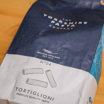 Yorkshire Pasta Company - Tortiglioni Pasta At The Mart Farm Shop East Lothian near North Berwick