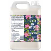 Faith In Nature 5 litre rose body wash